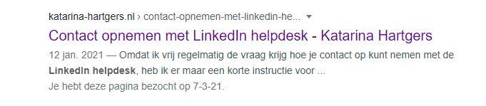 Hoe neem je contact op met de LinkedIn Helpdesk